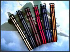 NATO G10 ® Premium Ballistic nylon PVD Military watchband strap Bond IW SUISSE