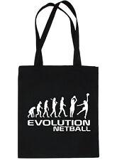Evolution Of Netball Shopping Tote Bag Ladies Gift