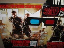 TOTAL FILM 3D 155 June 2009 FREE Glasses Christian Bale