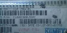 Kemet C1206C820J5GAC 82pF 50V C0G 5% SMD 3.2 X 1.6 mm 125 OC Condensador Cerámico