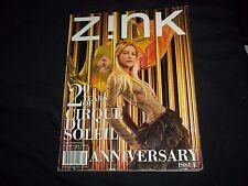 2004 MAY ZINK MAGAZINE - 20 YEARS OF CIRQUE DU SOLEIL - FASHION MODELS - F 990