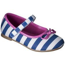 Cherokee Toddler Girl's  Jaray Navy / White Ballet Flats - Size 5 NWOB