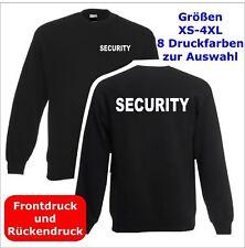 SECURITY  Sweatshirt Pullover schwarz S-3XL SE1