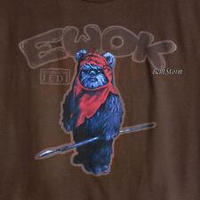 NEW Star Wars Return of The Jedi Wicket Ewok Disney Store Adult Tee Shirt T 2X