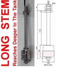LONG Water Level Sensor Liquid Float Switch Tank Monitor Pool Stainless Steel L2