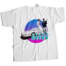 Miami Vice crimen TV Serie Culto Horror Sci Fi Terror Retro para hombre T Shirt