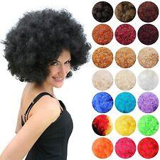 Afro-Perücke 70er 80er Jahre Motto Party Disco Afroperücke Herren Damen Unisex