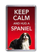 Keep Calm and Hug a Spaniel- Dog Fridge Magnet Pet Animal Novelty Gift