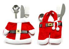 Weihnachts-Deko-Besteck-Set 2,4 oder 6 Stück im Pack,für den Weihnachts-Esstisch
