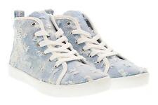 Lelli Kelly scarpe bambina sneakers alta LK4278 ROXY BLU JEANS P17