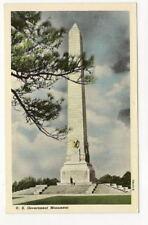 JAMESTOWN ISLAND VA US Government Monument Vtg Postcard