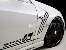 SPORT Motorsport Performance Racing Stripe Car Vinyl Decal Sticker Emblem logo
