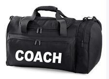 Coach Carry Kit sac imprimé Football Jeu Boules arbitre formation Holdall