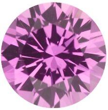 Natural Extra Fine Intense Pink Sapphire - Round Diamond Cut - East Africa - AAA