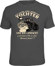 Vatertag Fun T-Shirt - Landwirt und hübsche Tochter - Männer Geschenke Shirts