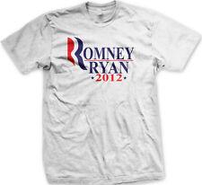 Romney Ryan 2012 Republicans Vote Election President Campaign New Mens T-shirt
