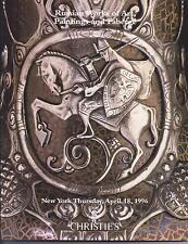 CHRISTIE'S Russian Faberge Art Roerich Enamels Silver Porcelain Jewelry Cat 96