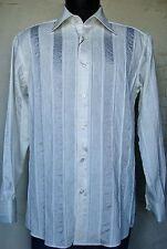 Men's Dancer Dress Shirts - Style Ecru 7119