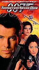 Tomorrow Never Dies (VHS, 1998, James Bond 007) Pierce Brosnan NEW SEALED