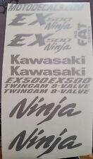 Graphics Sticker Decal Kit for EX500 Ninja 500 Upper Tank Fairing Fender Emblem