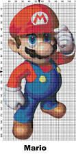 Nintendo Super Mario Characters Cross Stitch Patterns
