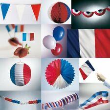 Francia Decoración Fiesta Azul Blanco Rojo Celebración USA AMERICA Fútbol NUEVO