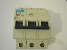 HAGER G 16A X 8416 380V Tripe POLE MCB interruttore automatico.
