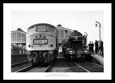 Flying Scotsman 1968 Steam Train Photo Memorabilia (010)
