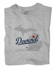 Deward Michigan MI Mich T-Shirt MAP