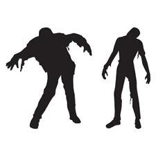 Zombie Walker Shambling - Decal Sticker - Multiple Color & Sizes - ebn773