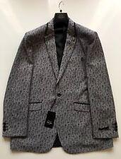 Men's Bespoke TAZIO uomo Fashion Grey Blazer.