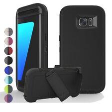 Pro Defender Cover Case w/ Screen Protector & Clip For Samsung Galaxy S7/S7 Edge