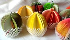 3D en forme de fruits Mémo Bloc-notes école bureau détachable décoratifs