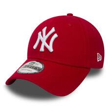 Cappellino Visiera Curva New Era New York Yankees Rosso Red Uomo/Donna Unisex