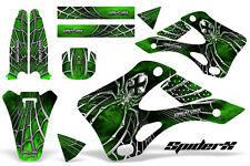 KAWASAKI KX125 KX250 99-02 GRAPHICS KIT CREATORX DECALS SPIDERX SXG
