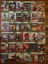 Xbox 360 18er Spiele (COD, Halo, Hitman, Mafia, Spec Ops, Sniper, GTA, ...)