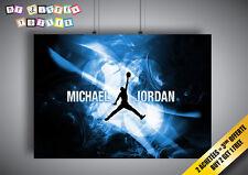 Poster MICHAEL JORDAN BASKETBALL LEGEND