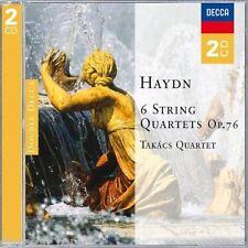 Haydn: String Quartets (Quartetti per Archi), Op 76 1-6 / Takacs Quartet - CD