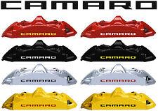 8 X Camaro Brake Caliper Wheels Decal Sticker Graphics Vinyl Emblem Logo I