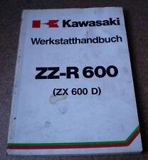 Werkstatthandbuch Kawasaki ZZ -R 600 Stand 1990
