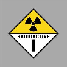 Radioactive Vinyl Decal Sticker Car Window Wall Cornhole