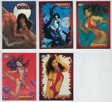 VAMPIRELLA trading cards and PROMO cards.