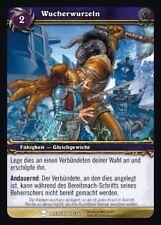 WoW - 4x Wucherwurzeln - Helden von Azeroth - mint