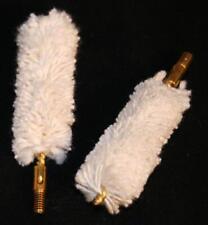 Black Powder Muzzleloading Cotton Bore Cleaning Swabs 2 Pak .32-.75 8/32,10/32