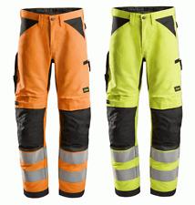 Snickers 6332 LiteWork, Hi-Vis Work Trousers+ Cl2
