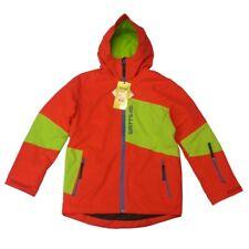 Veste Ski Homme WATTS Gonne1 rouge empiècement vert