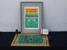 B433 Rare ancien jeu H.B. LES JOUEURS DE FOOT BALL 1946 Football ballon