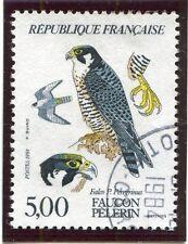 TIMBRE FRANCE OBLITERE N° 2340 FAUNE FAUCON PELERIN