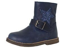 Clic! Stiefeletten mit 9085 Mädchen Leder Kinder Schuhe Blau Gr. 25-33 Neu