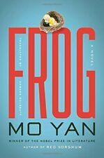 NEW Frog: A Novel by Mo Yan
